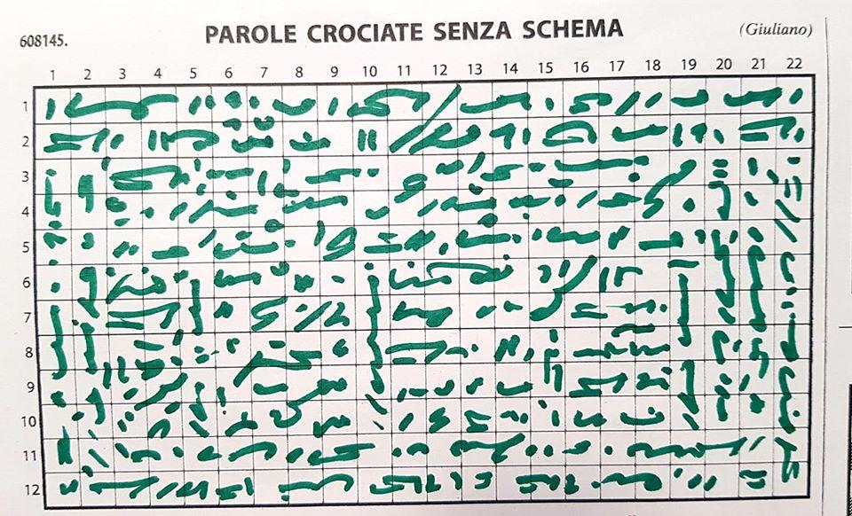 Enzo Patti, Schema libero 2020